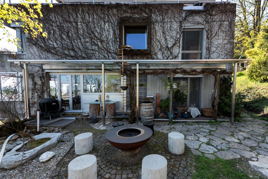Vordach Einfamilienhaus Biel